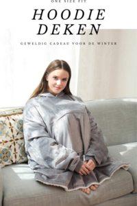 hoodie deken voor koukleum