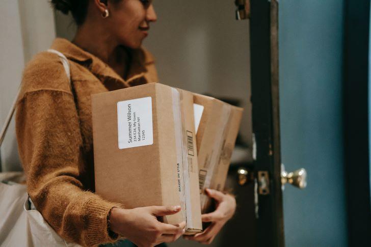 Verzenden van een pakketje